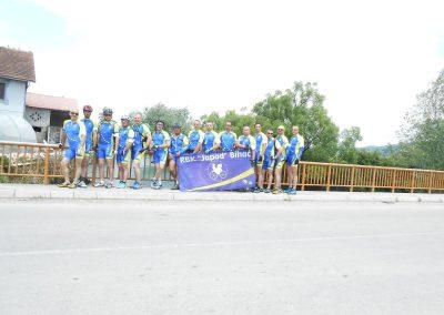 Prva (1.) Biciklijada Ključ 2015