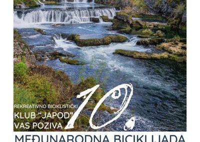 """Jubilarna 10. međunarodna biciklijada """"Nacionalni Park Una 2019"""""""