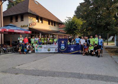 Izvještaj sa 3.biciklističkog maratona 2019 Sisak-Bihać-Vodice za kornatske vatrogasce